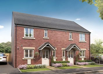 "Thumbnail 3 bed semi-detached house for sale in ""The Chester"" at Spetchley, Worcester"