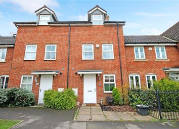 Thumbnail 3 bed terraced house to rent in Cloatley Crescent, Royal Wootton Bassett, Wiltshire