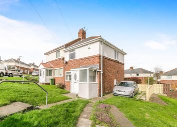 Thumbnail 2 bed semi-detached house for sale in Henderson Avenue, Whickham, Newcastle Upon Tyne