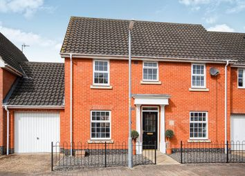 Thumbnail 4 bed semi-detached house to rent in Woodruff Road, Thetford, Norfolk