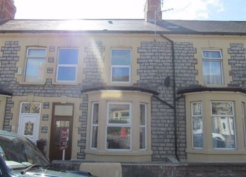 Thumbnail 3 bedroom terraced house to rent in Castleland Street, Barry, Vale Of Glamorgan