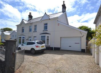 Thumbnail 3 bed semi-detached house to rent in Station Road, Kelly Bray, Callington, Cornwall