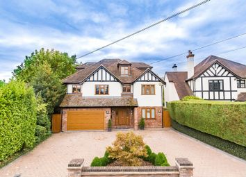 Thumbnail 5 bed detached house for sale in Hillcrest Road, Loughton