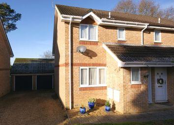 Thumbnail 3 bed semi-detached house for sale in Oak Close, Corfe Mullen, Wimborne