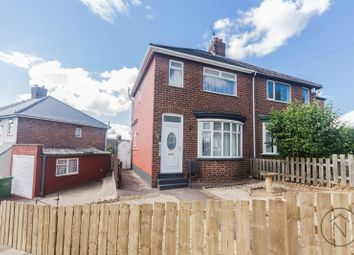 Thumbnail 2 bed semi-detached house to rent in Swinburn Road, Stockton-On-Tees