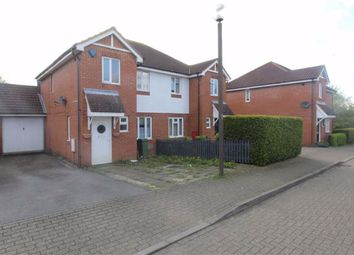 Thumbnail 3 bed semi-detached house to rent in Brill Place, Bradwell Common, Milton Keynes