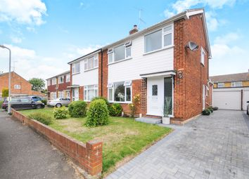 Thumbnail 3 bed semi-detached house for sale in Johnson Road, Great Baddow, Chelmsford