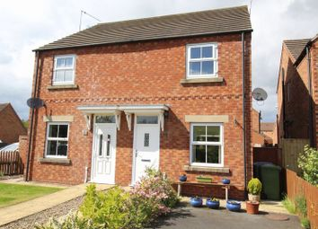 Thumbnail 2 bed semi-detached house for sale in Brigantia Gardens, Scarborough