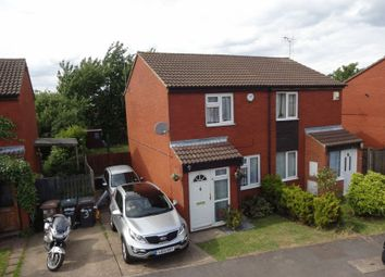 Thumbnail 2 bed semi-detached house for sale in Sparrow Close, Luton