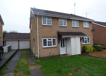 Thumbnail 3 bed semi-detached house for sale in Cullahill Court, Northampton, Northamptonshire