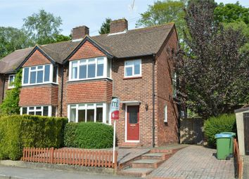 Thumbnail 3 bed semi-detached house to rent in Campbell Road, Weybridge, Surrey