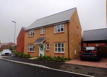Thumbnail 3 bedroom detached house for sale in Aureol Lane, Brooklands, Milton Keynes
