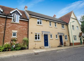 Thumbnail 2 bed terraced house to rent in Bulrush Crescent, Bury St. Edmunds