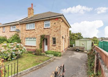 Thumbnail 3 bedroom semi-detached house for sale in Milborne Crescent, Parkstone, Poole