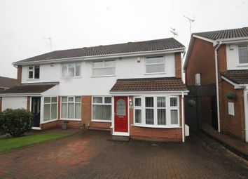 Thumbnail 4 bed semi-detached house for sale in Eacott Close, Coventry