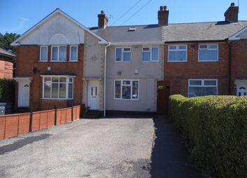 Thumbnail 3 bed terraced house to rent in Rise Avenue, Rednal, Birmingham