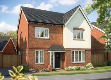 "Thumbnail 4 bed detached house for sale in ""The Aspen "" at Stafford Road, Eccleshall, Stafford"