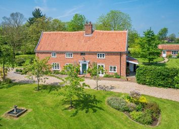 Thumbnail 6 bed farmhouse for sale in Fressingfield Road, Metfield, Harleston
