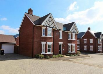 Thumbnail 4 bed detached house to rent in Broad Mead Avenue, Great Denham, Bedford