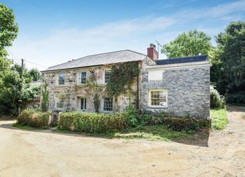 Thumbnail 4 bed detached house for sale in Manaccan, Helston, Cornwall