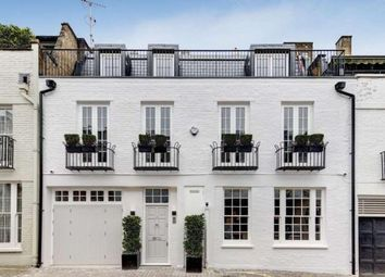 Thumbnail 4 bed mews house for sale in Ennismore Mews, London