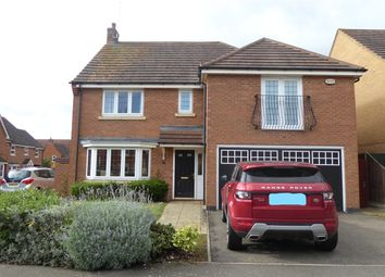 Thumbnail 4 bedroom detached house to rent in Bancroft Way, Wootton Fields, Northampton