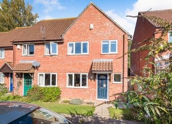 Thumbnail 3 bedroom end terrace house for sale in Marwood Close, Wymondham
