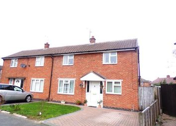Thumbnail 2 bed semi-detached house for sale in Elizabeth Crescent, Wigston, Leicester, Leicestershire