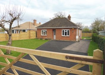 Thumbnail 3 bed detached bungalow for sale in Soake Road, Denmead, Waterlooville
