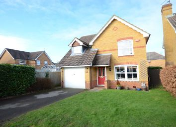 Thumbnail 3 bed detached house to rent in Jessett Drive, Church Crookham, Fleet