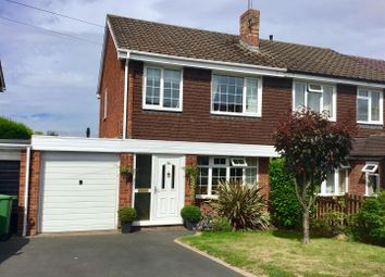 Thumbnail 3 bed semi-detached house for sale in Meadow Glade, Hixon, Stafford