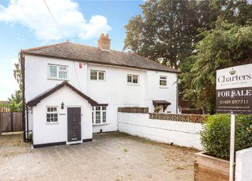 Hamble Lane, Bursledon, Hampshire SO31. 3 bed semi-detached house