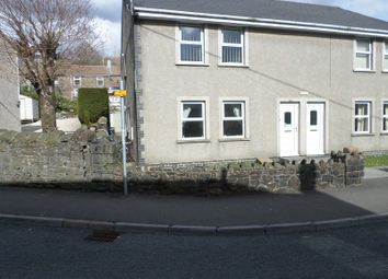 Thumbnail 2 bed flat for sale in Dinam Street, Nantymoel, Bridgend, Bridgend.