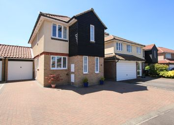 Thumbnail 4 bed detached house for sale in Kentwell Place, Burwell