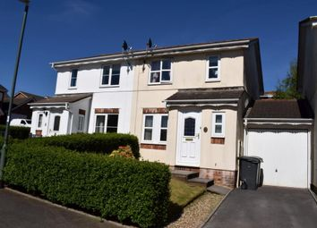 Thumbnail 3 bed semi-detached house for sale in Cotehele Drive, Paignton, Devon