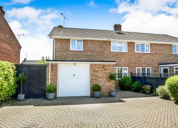 Thumbnail 3 bed semi-detached house for sale in Parkhouse Road, Shipton Bellinger, Tidworth