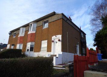 Thumbnail 2 bed flat for sale in Wedderlea Drive, Hillington, Glasgow