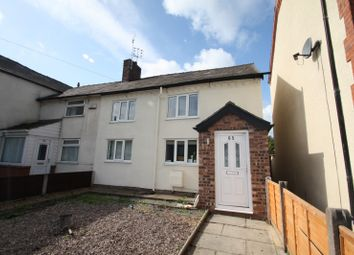 Thumbnail 2 bed property to rent in Runcorn Road, Barnton, Northwich