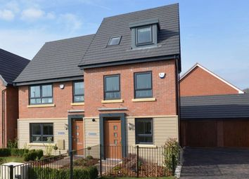 "Thumbnail 4 bedroom semi-detached house for sale in ""Rochester"" at Nottingham Business Park, Nottingham"