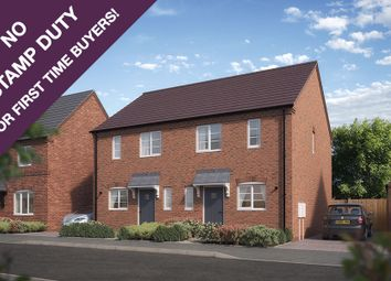 Thumbnail 3 bedroom semi-detached house for sale in The Carrington, Hill Ridware, Rugeley, Cannock, West Midlands