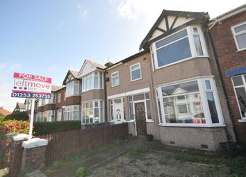 Thumbnail 3 bed terraced house for sale in Keasdon Avenue, South Shore, Blackpool, Lancashire