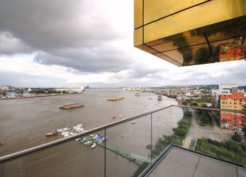 Thumbnail 3 bed flat to rent in Barge Walk, City Peninsula, London