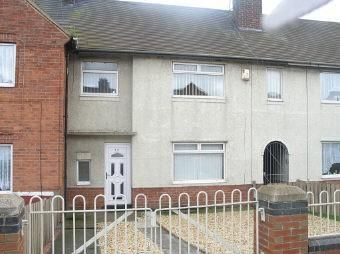 Thumbnail 2 bedroom terraced house for sale in Bevanlee Road, South Bank