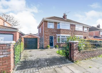 Thumbnail 3 bed semi-detached house for sale in Sherwood Drive, Bebington, Wirral