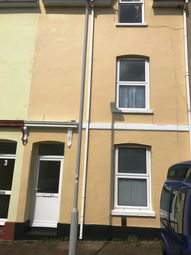 Thumbnail 3 bed terraced house to rent in Cannon Street, Plymouth