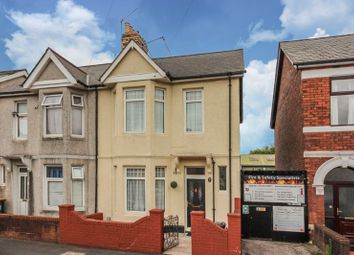 Thumbnail 4 bed semi-detached house for sale in Marlborough Road, Newport