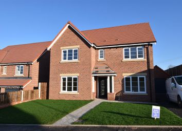 Thumbnail 4 bed detached house for sale in Thimble Mill Close, Shepshed, Loughborough