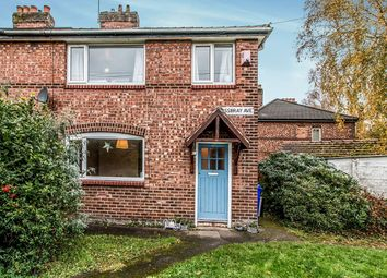 Thumbnail 3 bed semi-detached house for sale in Mossbray Avenue, Withington, Manchester