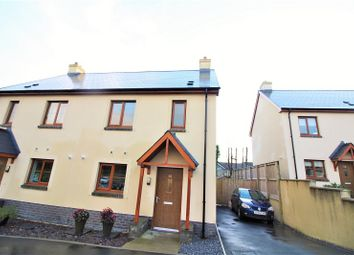 Thumbnail 3 bed semi-detached house for sale in Coppins Park, Pentlepoir, Saundersfoot, Pembrokeshire.