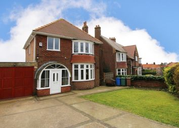 Thumbnail 3 bed detached house for sale in Sewerby Road, Bridlington